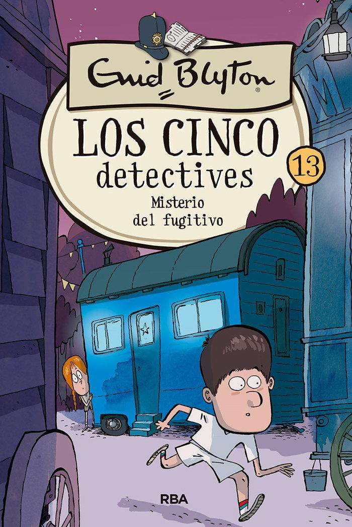 Los cinco detectives 13 misterio del fugi