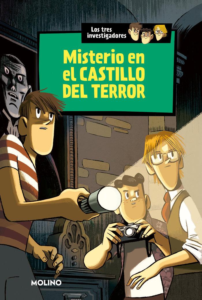 Tres investigadores 1 misterio en el castillo del terror
