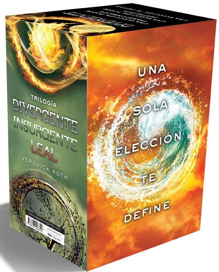 Divergente pack trilogia