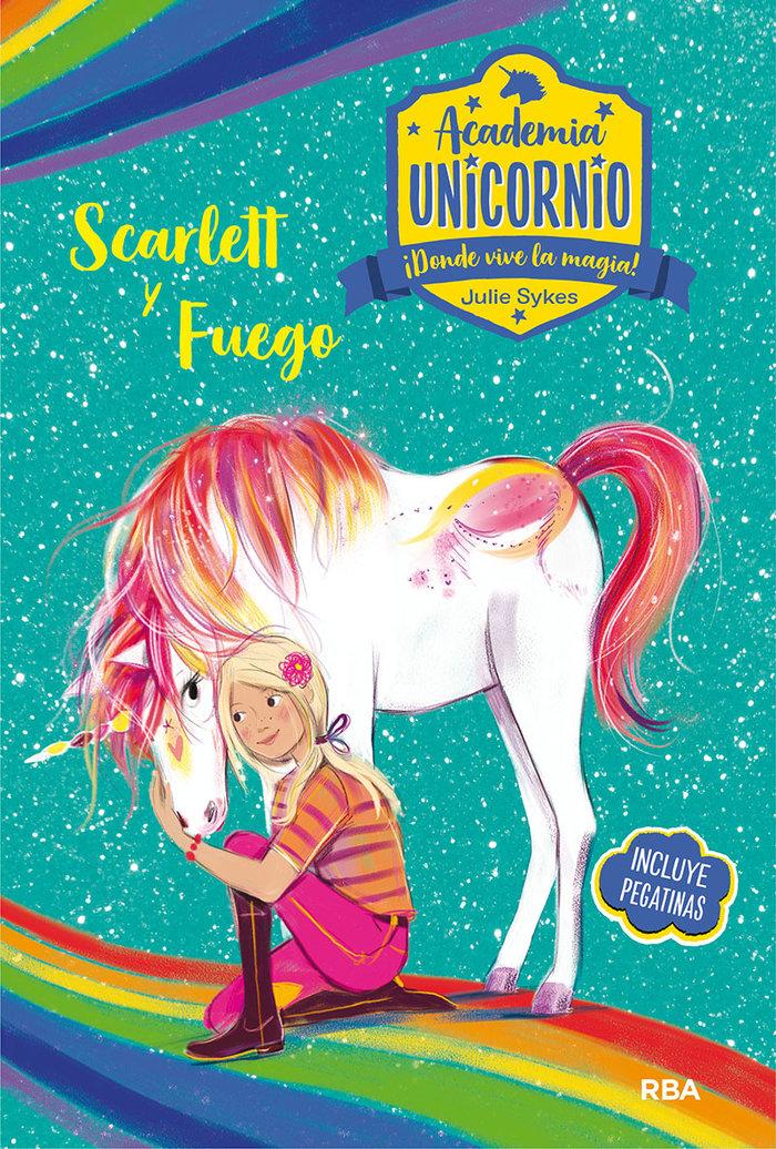 Academia unicornio 2 scarlett y fuego