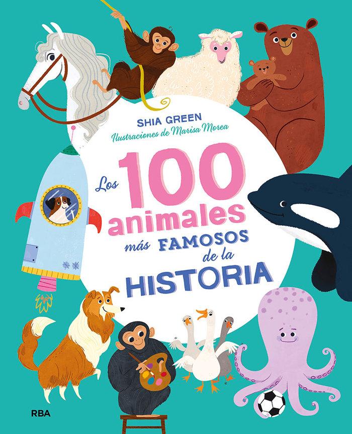100 animales mas famosos de la histori