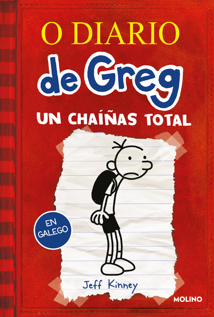 O diario de greg 1 (gallego) un chaiñas total