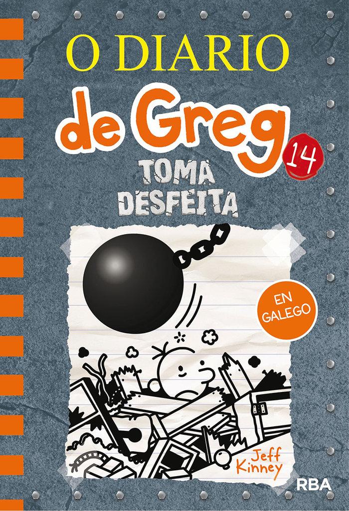 O diario de greg 14. toma desfeita(gallego)