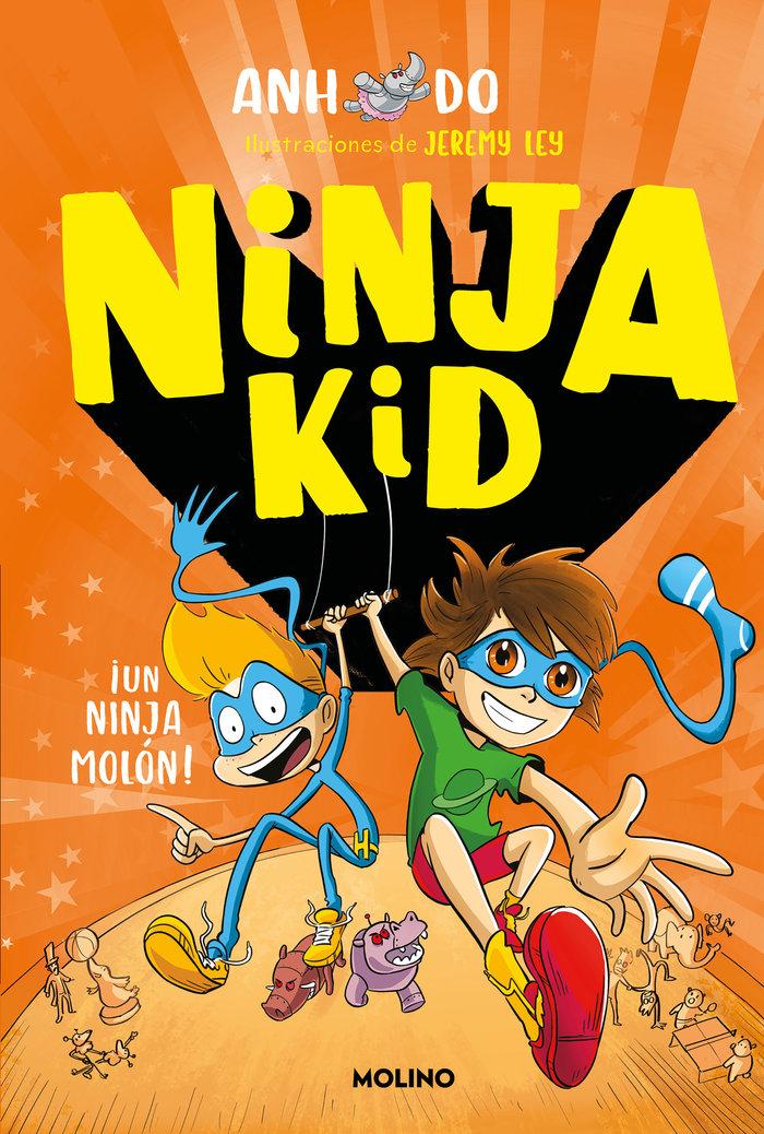 Ninja kid 4 un ninja molon