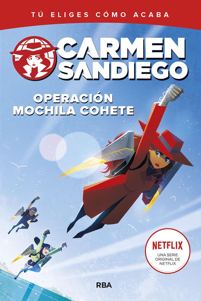 Carmen sandiego 2 operacion mochila cohete