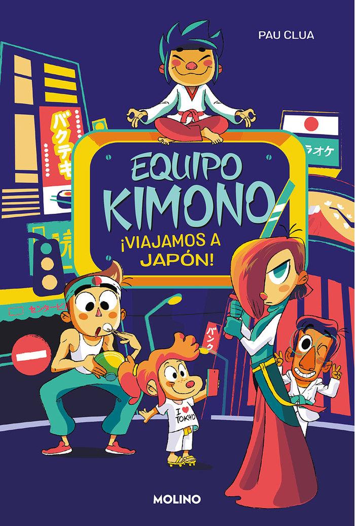 Equipo kimono 2. viajamos a japon