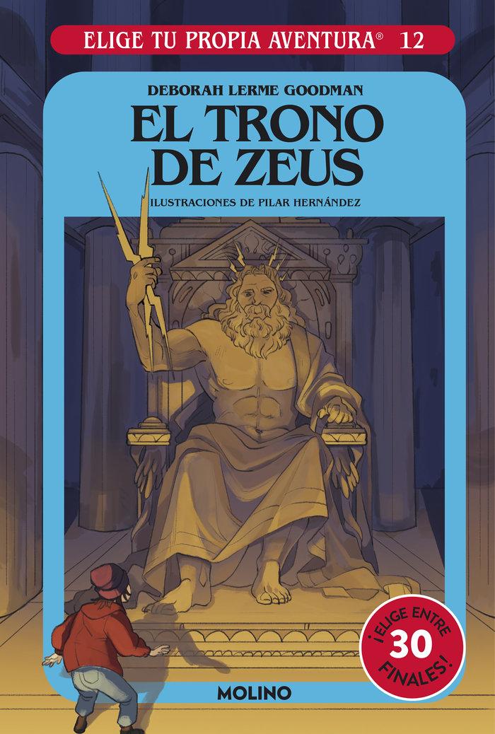 Elige tu propia aventura 12 el trono de zeus
