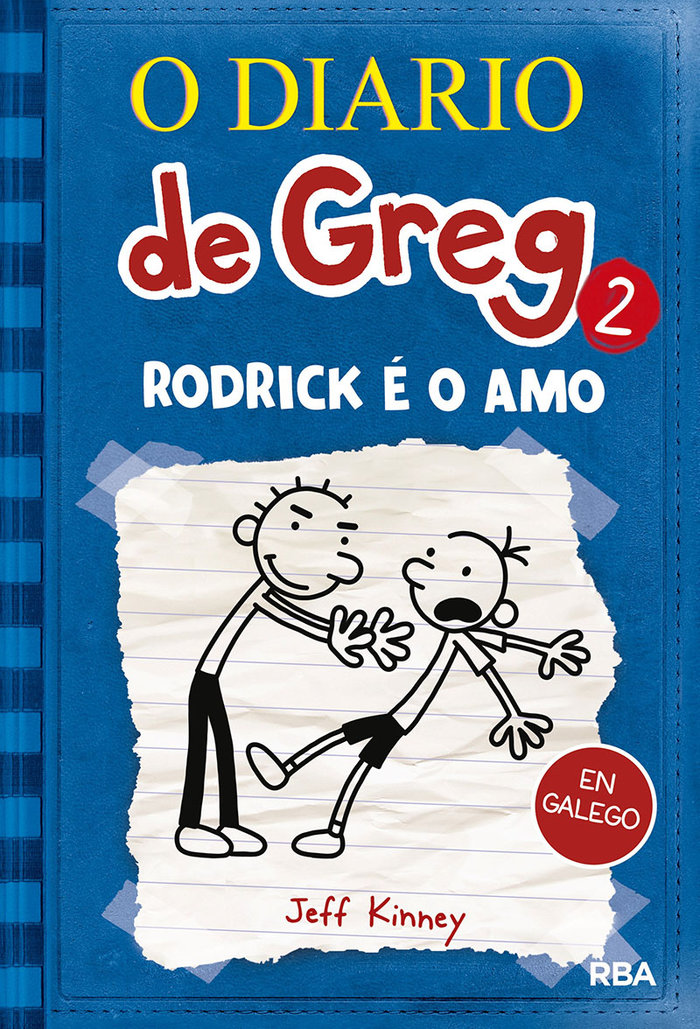 O diario de greg 2 rodrick e o amo gallego