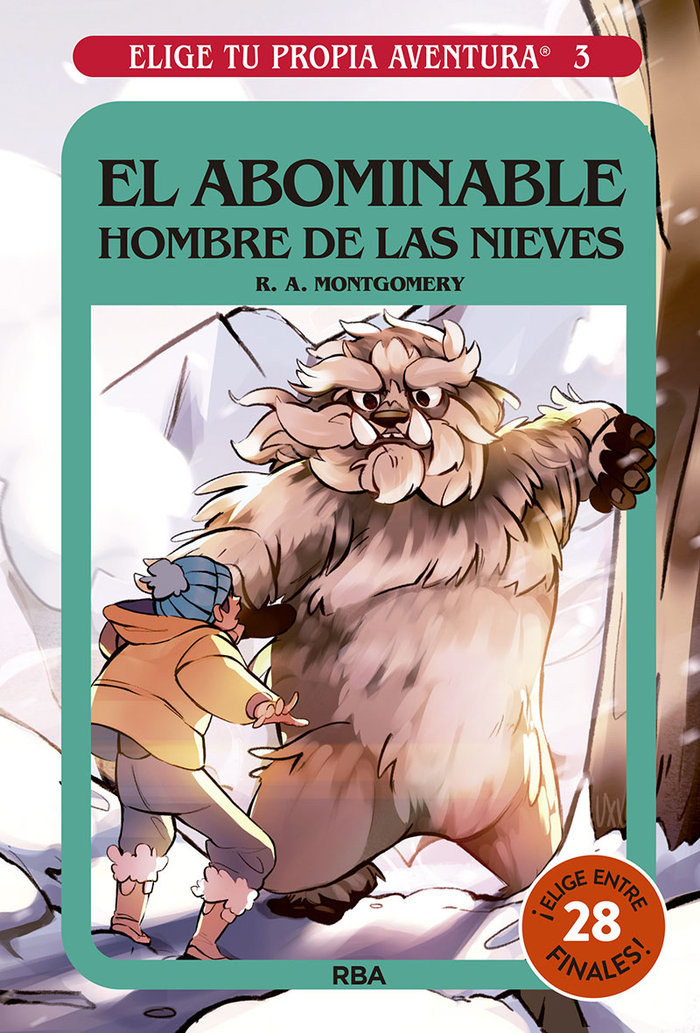 Elige tu propia aventura 3 el abominable