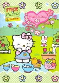 Hello kitty stick puzzle nº 36