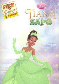 Tiana y el sapo stick & color