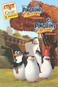 Pinguinos de madagascar,los stick color