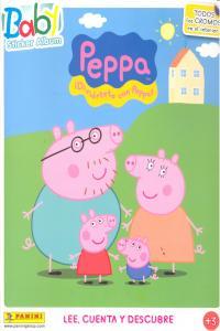 Diviertete con peppa baby sticker album lee cuenta y descub