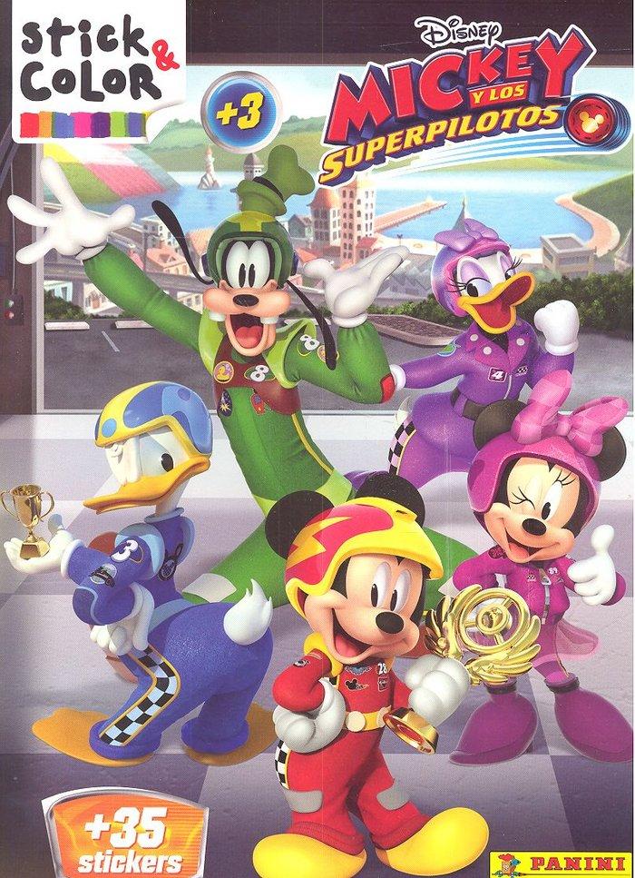 Mickey y los superpilotos stick color