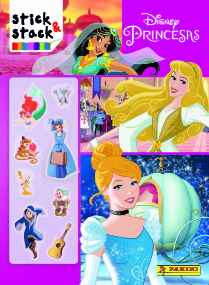 Disney princesas stick & stack