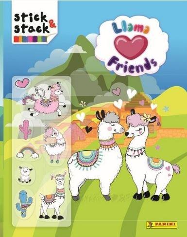 Stick and stack llama friends