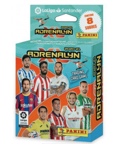 Ecoblister 8 sobres tc adrenalyn 2020-2021