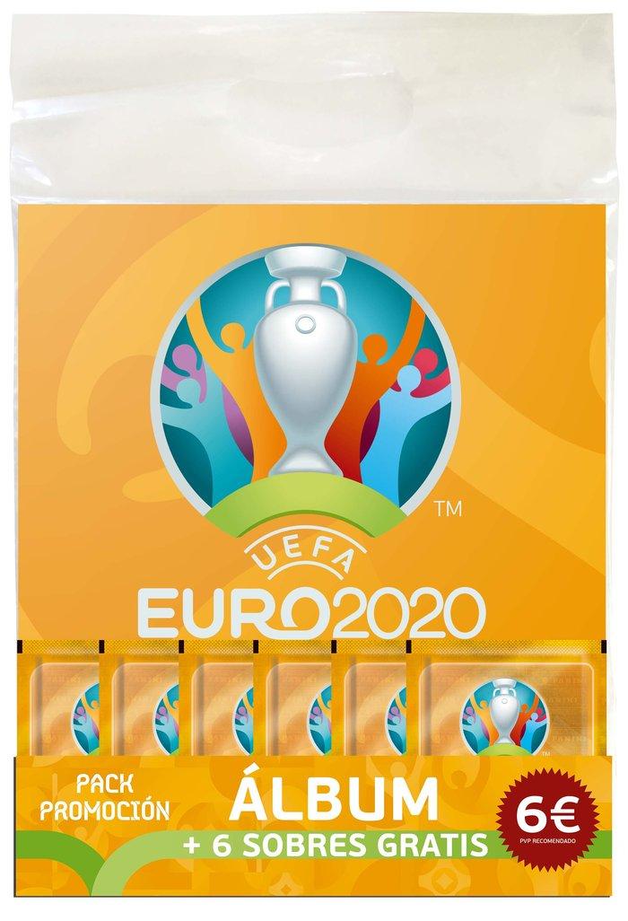 Promopack album 6 sobres euro 2020