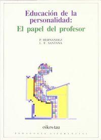 Educacion personalidad.papel profesor