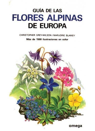 Guia flores alpinas europa/omega