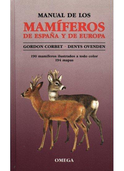 Manual mamiferos españa europa/omega