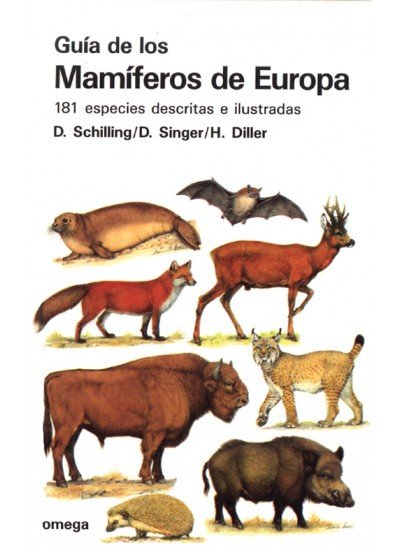 Guia mamiferos europa