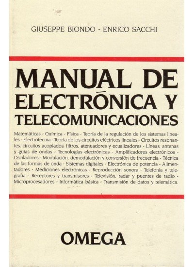 Manual electronica y comunicaciones