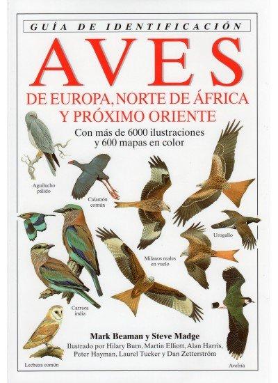 Aves europa norte africa guia identificacion