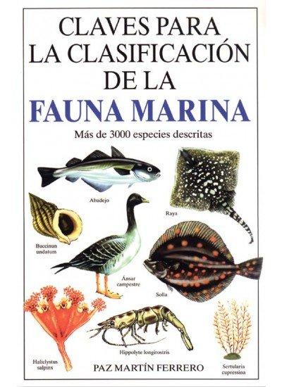 Claves para clasificacion fauna marina