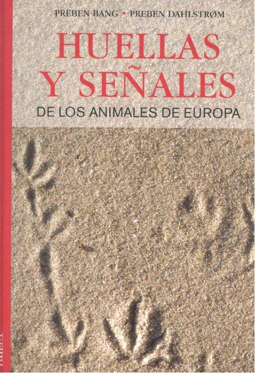 Huellas y señales animales europa