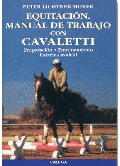 Equitacion manual de trabajo con cavaletti