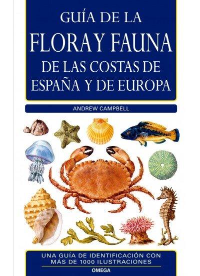 Guia flora y fauna costas españa y europa