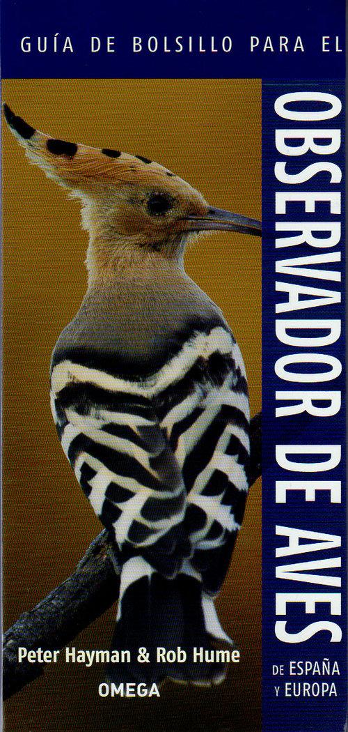 Guia de bolsillo para el observador de aves españa y europa