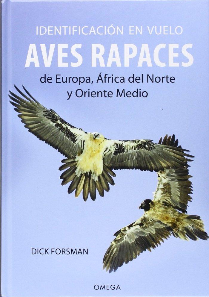 Identificacion vuelo aves europa norte africa oriente
