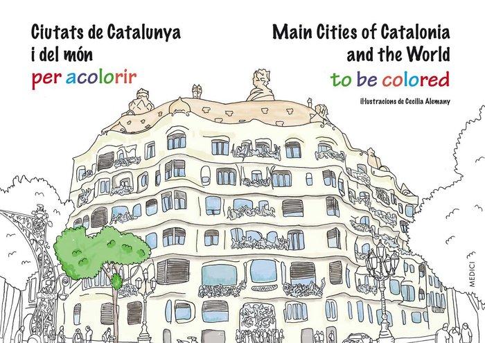Ciutats de catalunya i del mon per acolorir