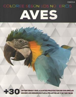 Aves coloree segun los numeros