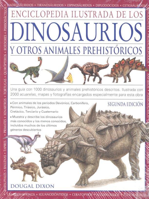 Enciclopedia ilustrada dinosaurios y animales prehistoricos