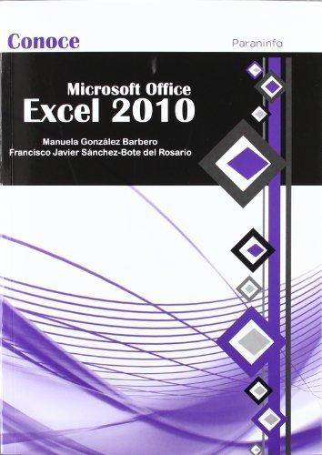 Microsoft office excel 2010 conoce