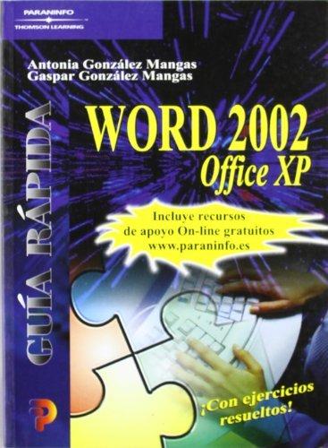 Word 2002 office xp