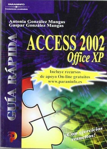 Guia rapida access 2002 office xp