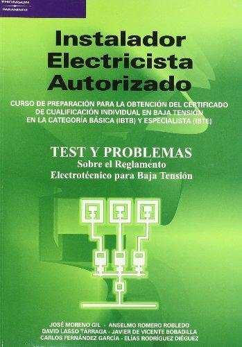 Instalador electricista autorizado test           parele0cf