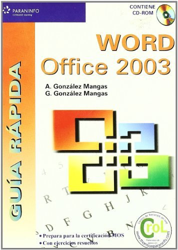 Guia rapida word office 2003