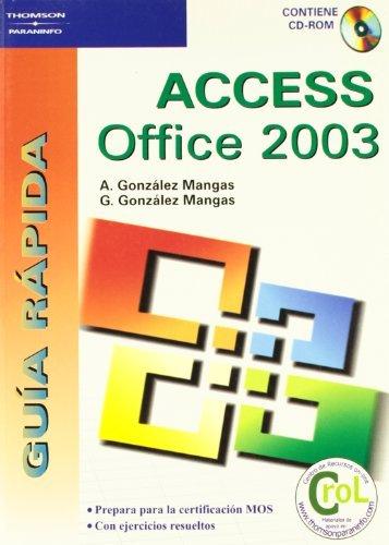 Guia rapida access office 2003