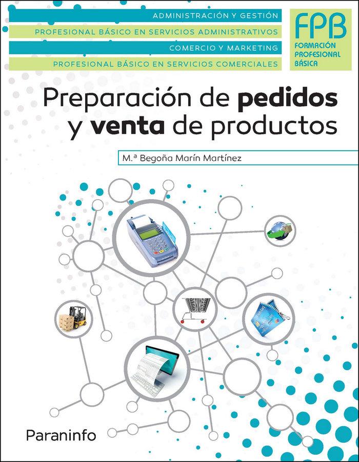Preparacion de pedidos y venta productos