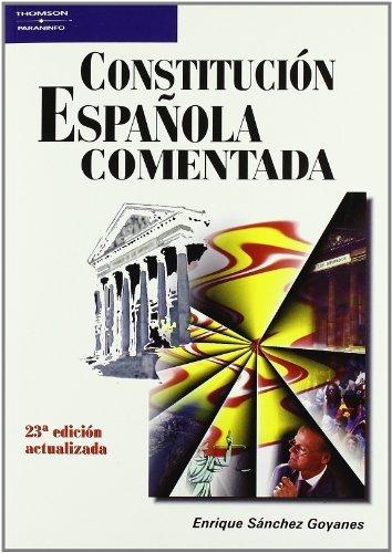 Constitucion española comentada 23ªedicion
