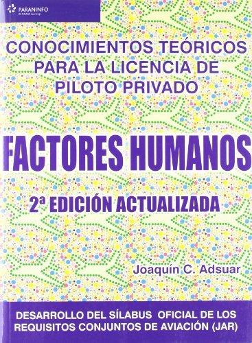 Factores humanos conocimientos teoricos licencia piloto 2ª