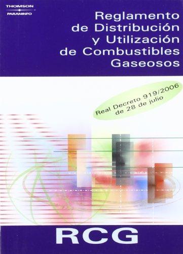 Reglamento distribucion utilizacion combustibles gaseosos
