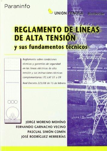 Reglamento lineas alta tension y fundamentos tecnicos