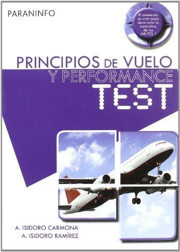 Principios de vuelo y performance test