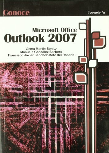 Conoce microsoft outlook 2007